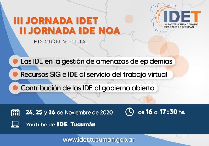 III JORNADA IDET - II JORNADA IDE NOA